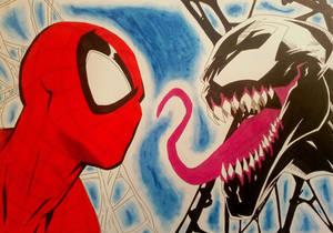 SPIDERMAN VS VENOM (2)
