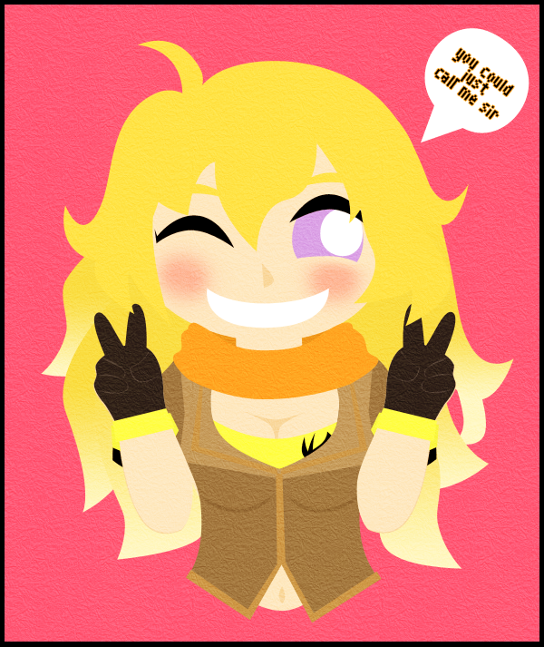 Yang Xiao Long Wallpaper: Yang Xiao Long By Panchann On DeviantArt
