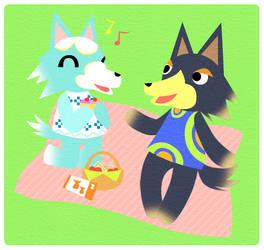 wolf date by Panchann