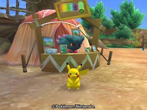 Misdreavus and Pikachu