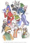 Star Fox Character Blam 01