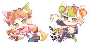 sou and tema pixel