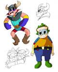 WordGirl Villain Sketches 2