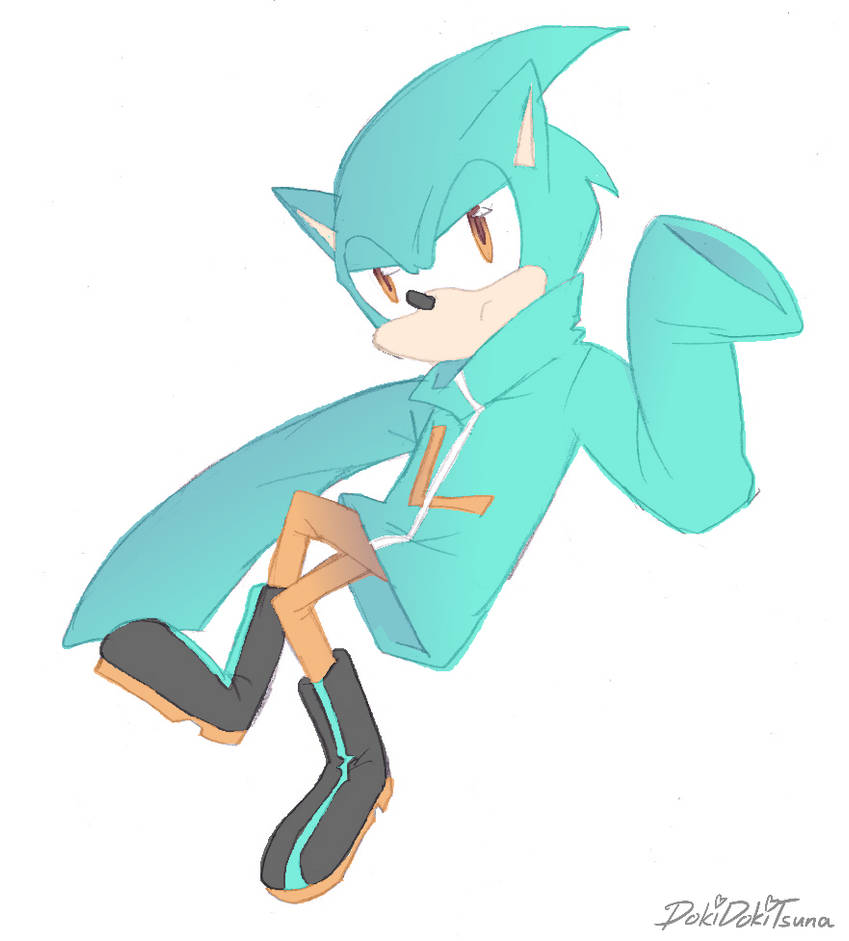 Sonic Colors Wisp Gijinka Cyan Laser By Dokidokitsuna On Deviantart