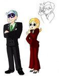 WordGirl Villain Sketches 3
