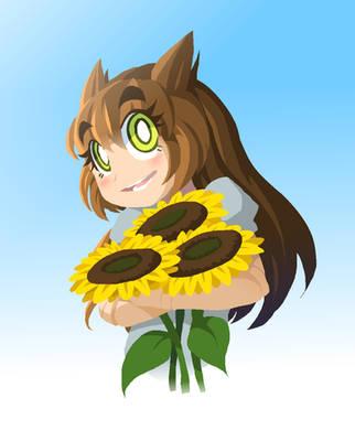 Sunflower of Hope by DokiDokiTsuna