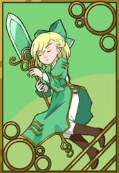 Our Lady in Green by DokiDokiTsuna