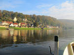 Stadt Wehlen from the ferry by fantom125