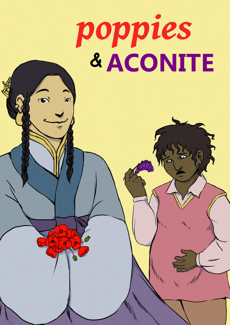 Poppies and Aconite by Tagath