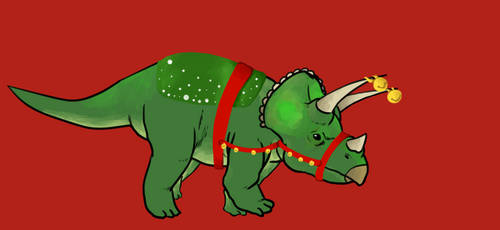 merry christmaceratops