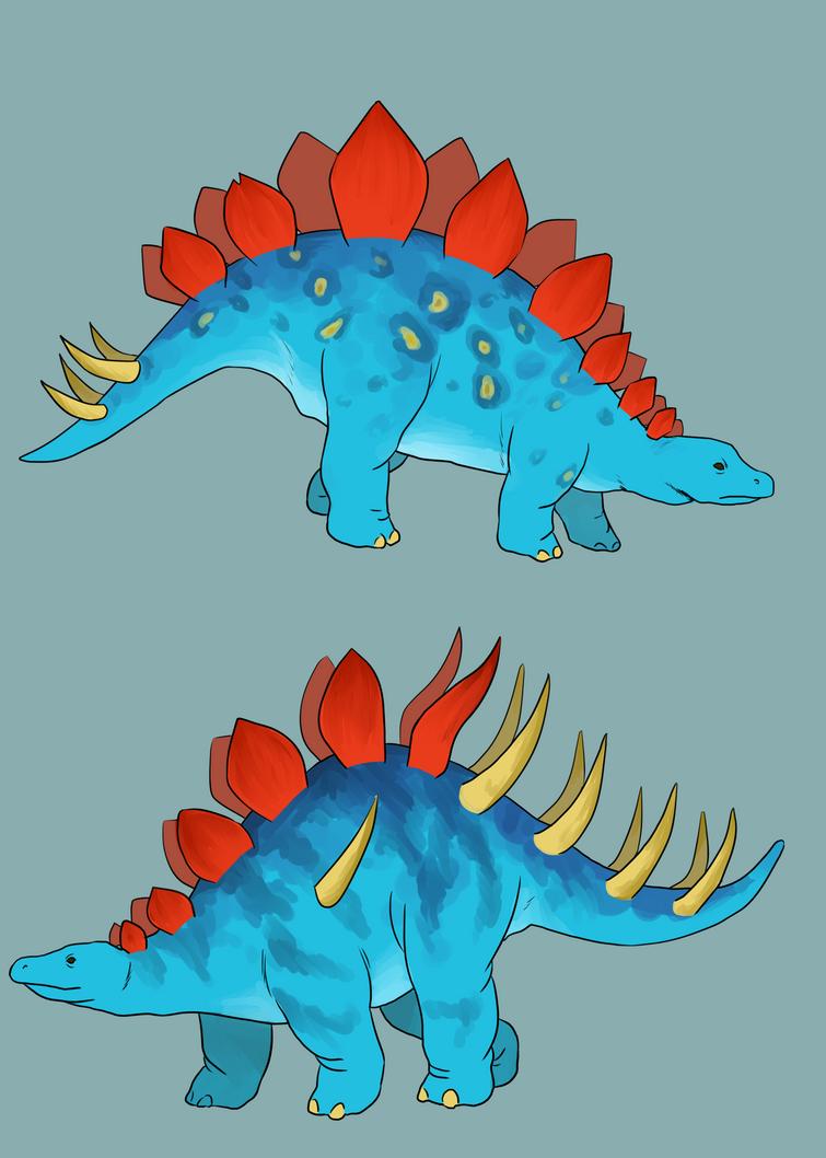 Stegosaurians by Tagath