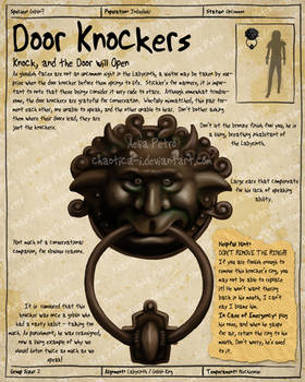 Labyrinth Guide Door Knocker 1