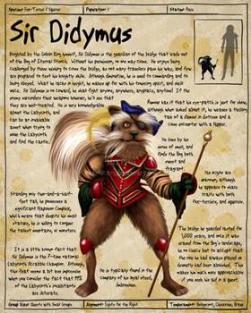 Labyrinth Guide - Sir Didymus