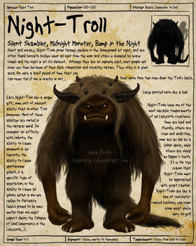 Labyrinth Guide - Night Troll
