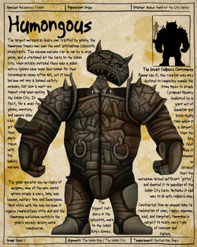 Labyrinth Guide - Humongous