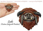 Custom Ludo Necklace