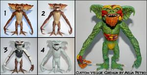 Vegetable Gremlin Custom Figure