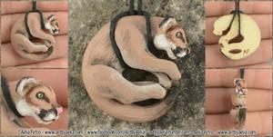 Cougar (Mountain Lion) Necklace