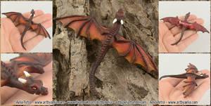 Realistic Dragon Hatchling Drogon