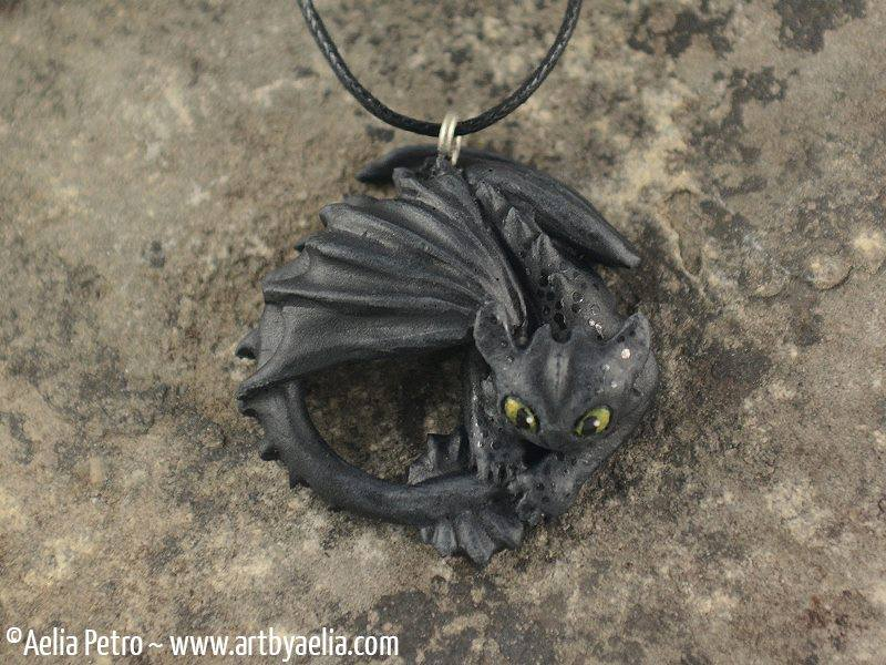Toothless How to Train Your Dragon Necklace