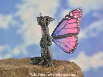 Monarch Purple Ombre Snap Dragonet