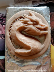 WIP - Smaug Sculpt 3 by Chaotica-I
