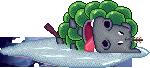 Grape hippo by luckylinx