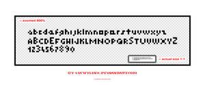smallest font