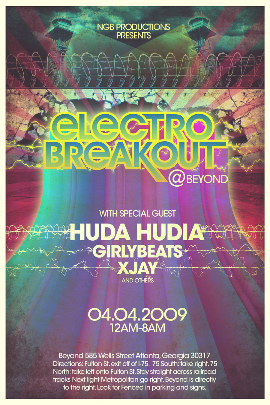 Electro Breakout by WishRecurred