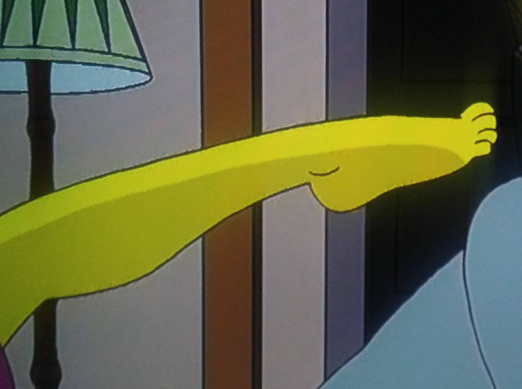 Marge Simpsons Foot by Jerrybonds1995 on DeviantArt