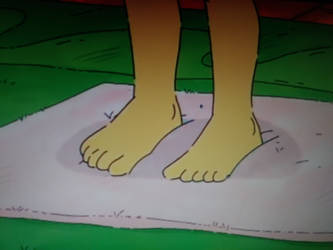 Muffy Crosswire's Toes by Jerrybonds1995