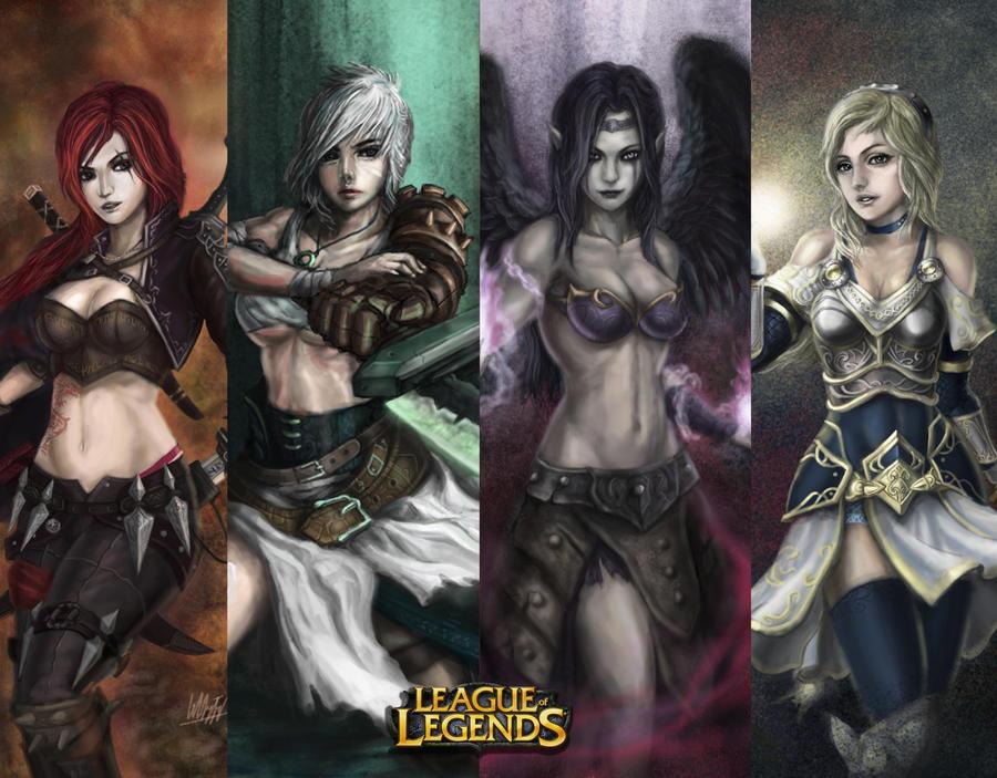 League of Legends Wallpaper 2 by Penator