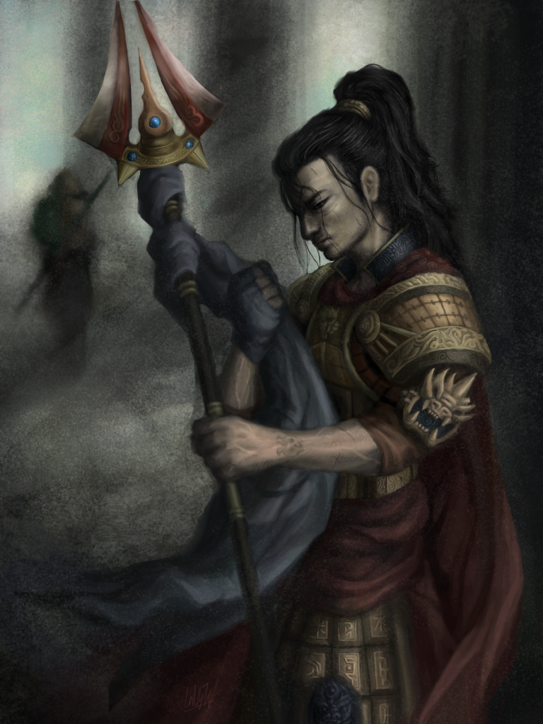 Xin Zhao, 'Jarvan IV's Departure' by Penator