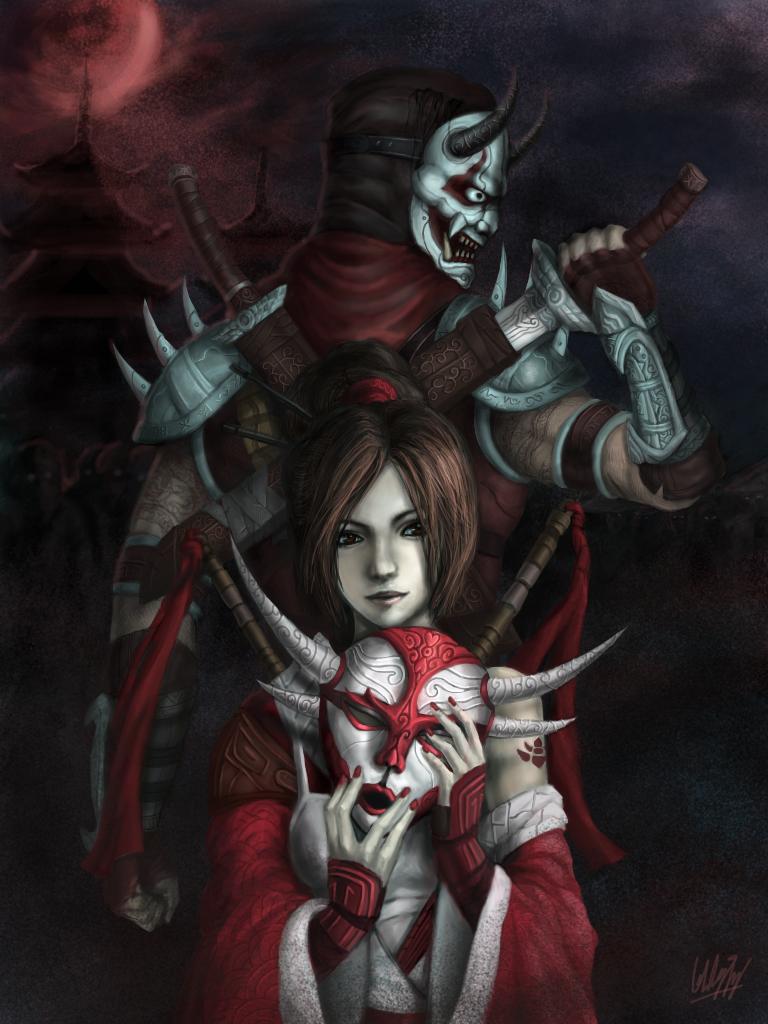 Blood moon by Penator