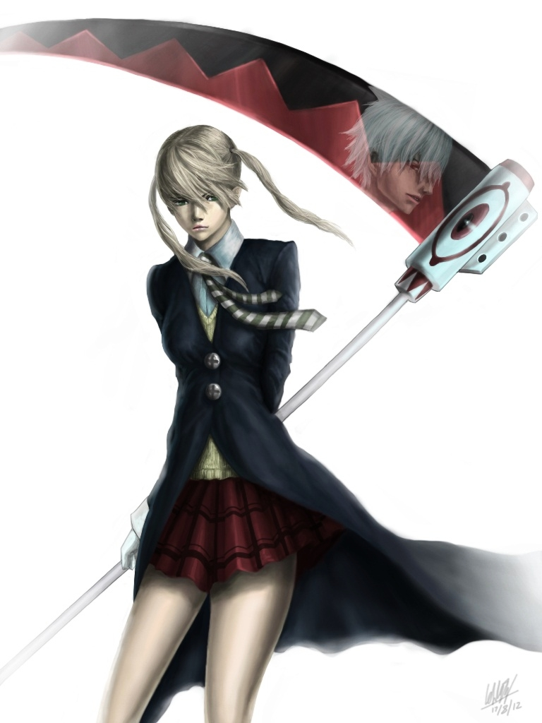 Maka Albarn and soul eater by Penator