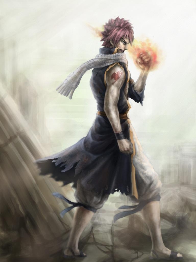 Natsu, victorious by Penator