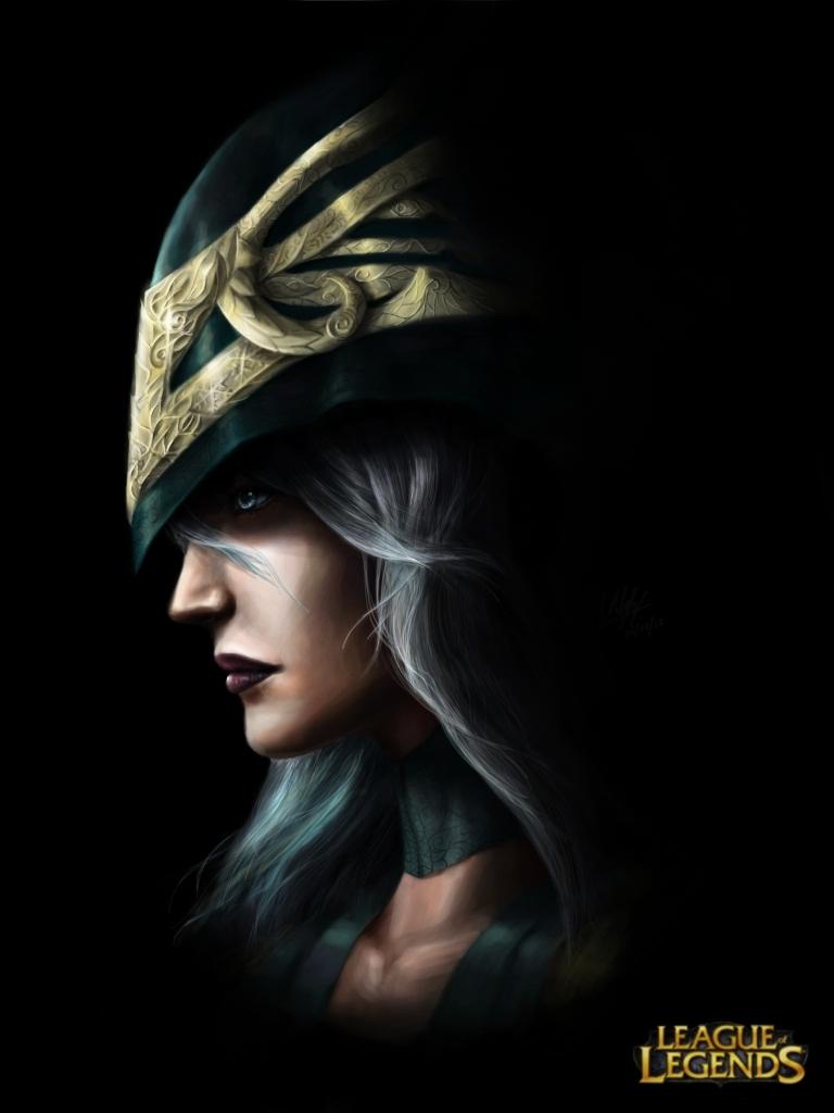 Ashe portrait 1 by Penator