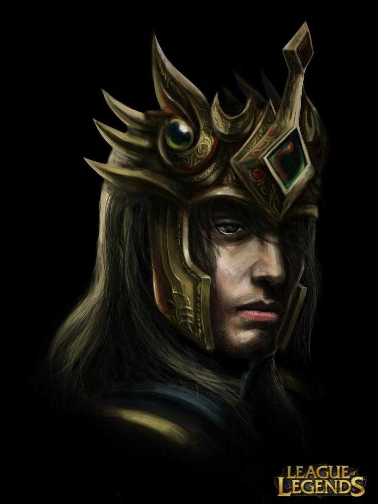 Jarvan IV portrait 3 by Penator