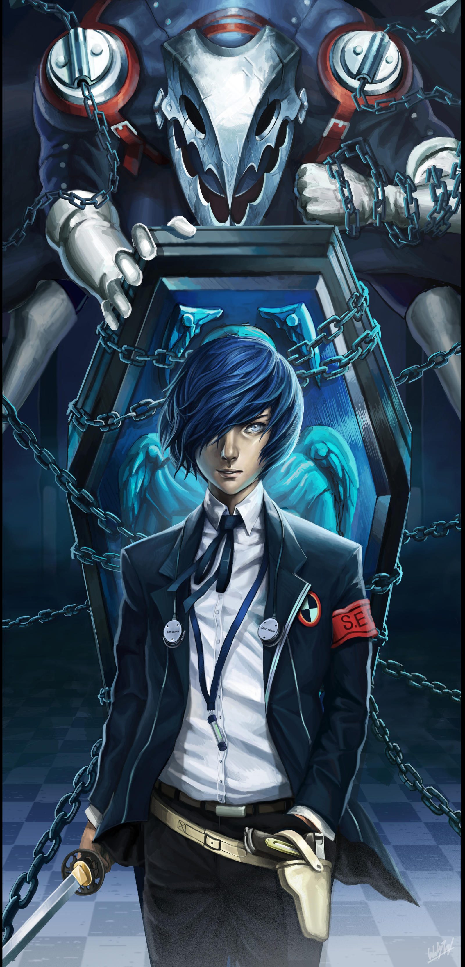persona 3 - The Master of shadow by Penator