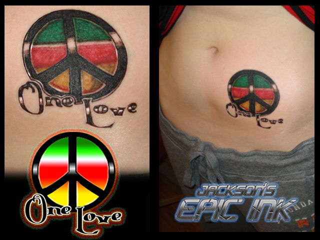 One Love Tattoo by ~Squamate on deviantART