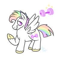 Hybrid Pony Adopt 3 OTA-OPEN by pinkiepiegasm