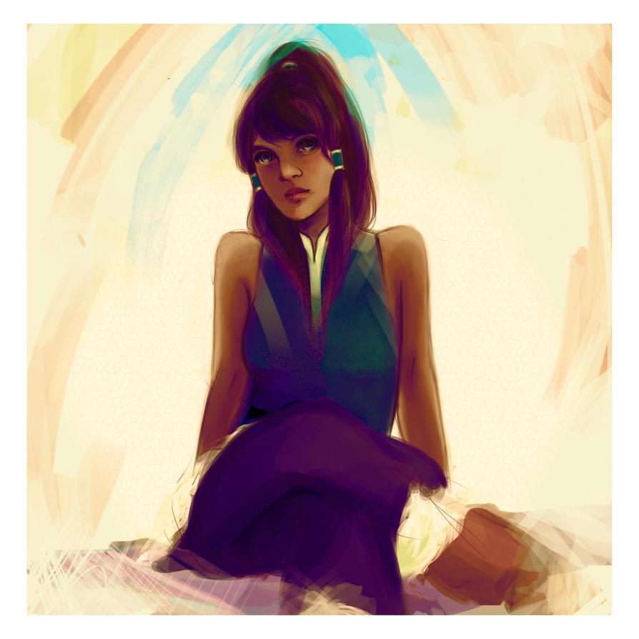 Korra Portrait by Eltis