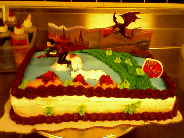Harry Potter Cake by HellPenguinAyane on DeviantArt