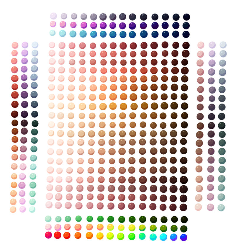 Skin Colour + Others  Palette