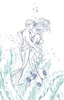 Mermaids by Spudfuzz