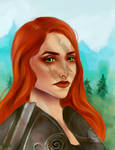 Aela the Huntress by Hjorka