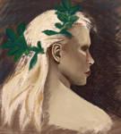 Portrait study 2 by Hjorka
