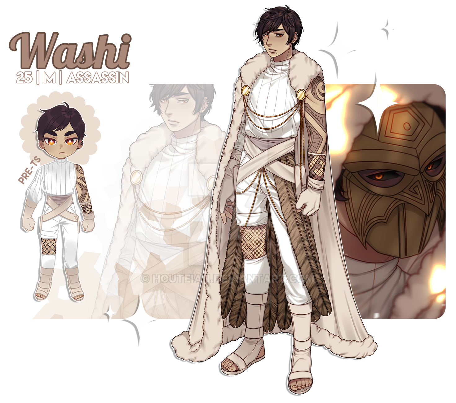 [NARUTO OC] Washi By Rieule On DeviantArt