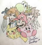 Super Smash Bros. Ultimate Collage