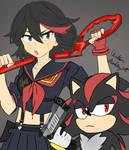 Ryuko and Shadow